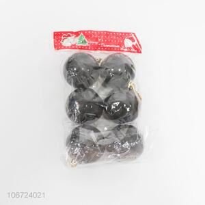 Wholesale 6 Pieces Plastic Christmas Ball