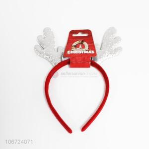 Hot Sale Sequins Christmas Antler Hair Hoop