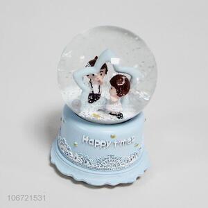 Good Quality Snow Ball With Light And Music