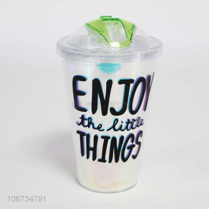 Custom Reusable Plastic Juice Cup With