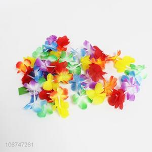 Good quality 4pcs hand flower chain flower lei dance garland