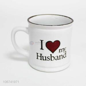 Reasonable price fashion ceramic cup ceramic mug