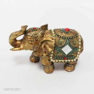 Unique design animal crafts resin elephant for home crafts decoration