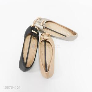 Good Quality Round Head Single Shoes For Women