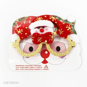 Low price party props Christmas decoration glasses