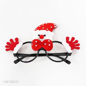 New Design Plastic Christmas Glasses Colorful Party Patch