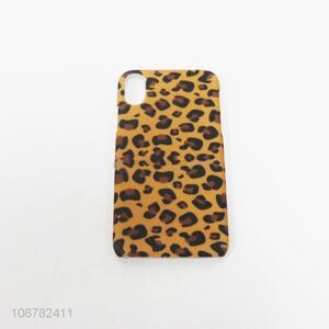 High Quality Sexy Leopard Print Mobile TPU Phone Shell Cellphone Case