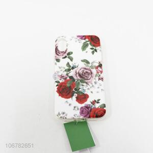 Cheap Price Mobile Phone Accessories Flowers Printing Mobile Phone Shell