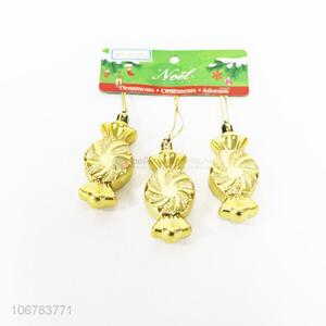 Competitive Price Golden Candy Shaped Christmas Ornaments