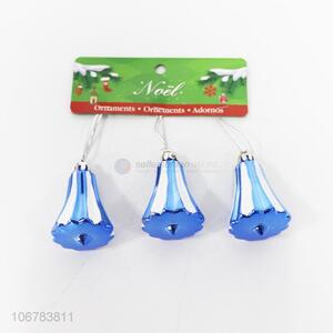 Direct Price Blue Christmas Bell Shaped Christmas Ornaments