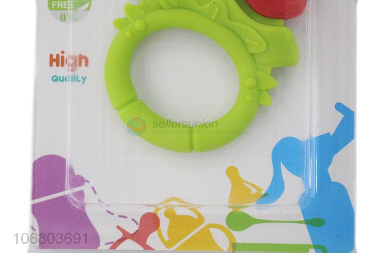 Latest arrival reusable baby teething toy silicone baby teether