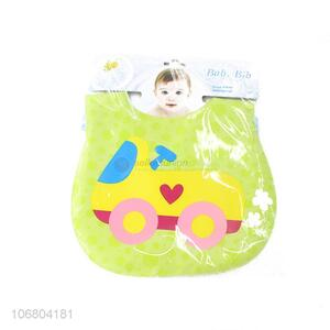 Best quality waterproof cartoon printing baby bibs