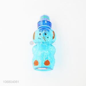 Hot selling cartoon elephant shape plastic baby feeding bottle