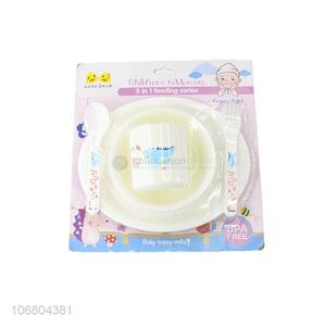 China supplier bpa free 4-in-1 baby feeding set with cup