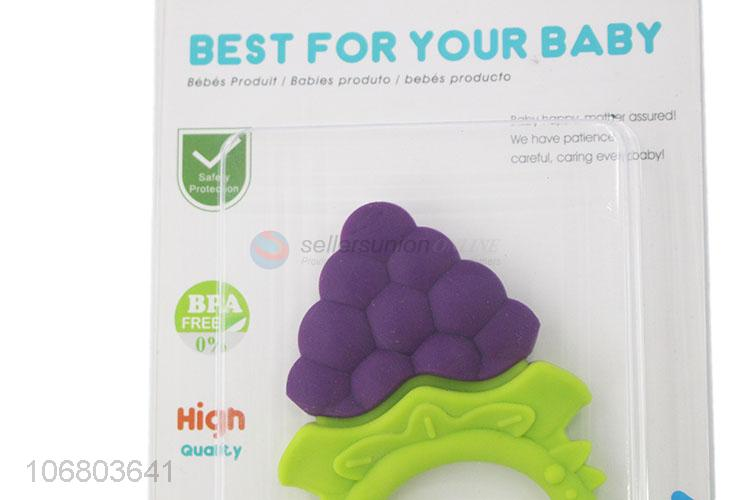 Best sale baby chew toy silicone teether baby supplies