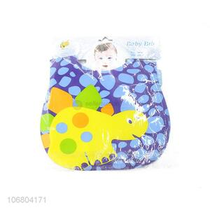 Factory direct sale cartoon baby bibs for feeding
