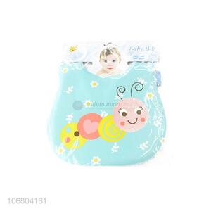 Good sale waterproof cartoon printing baby bibs
