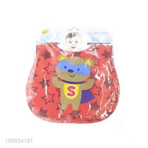 Newly designed cartoon baby bibs for feeding