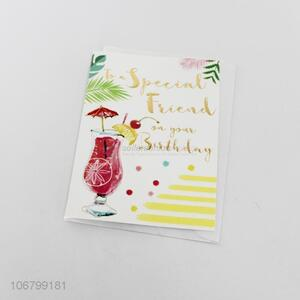 Good price custom printing greeting card