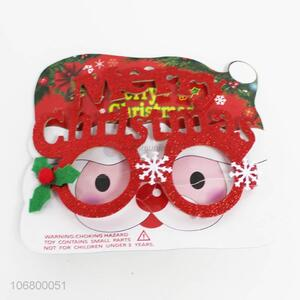 Good Quality Christmas Glasses Fashion Party Patch