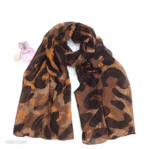 Hot Selling Soft Long Women Voile Printed Scarf