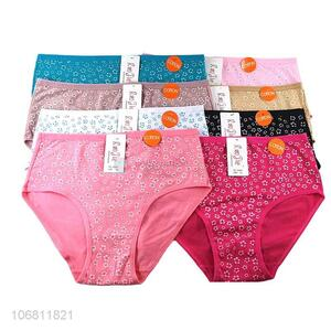Good Sale Cotton Briefs Ladies Breathable Underpants
