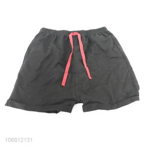 Wholesale price chilren sports shorts summer cotton shorts