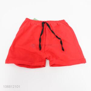 Hot selling children summer cotton sports shorts