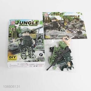 New product jungle special forces diy building blocks for kids