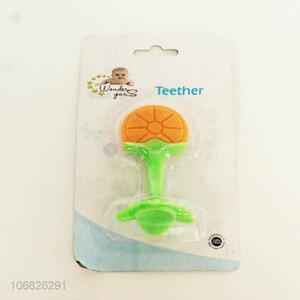 Factory wholesale food grade silicone baby teether