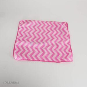Competitive price fashion square wavy cleaning cloth