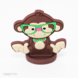 Cheap Price Animal Monkey Shaped Silicone Toy for Kids