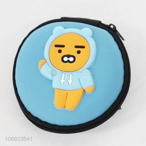 Popular products cartoon bear pattern round coin wallet