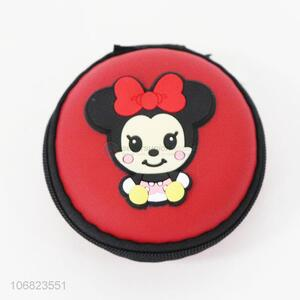Best selling cute mickey pattern round coin purse