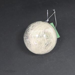 New arrival decorative Christmas decoration clear ball lamp