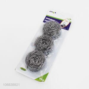 Good Quality 3 Pieces Clean Ball Steel Wire Ball