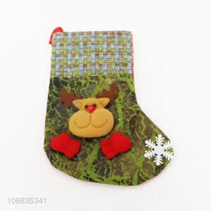 Factory supply cheap christmas stocking christmas decorative socks