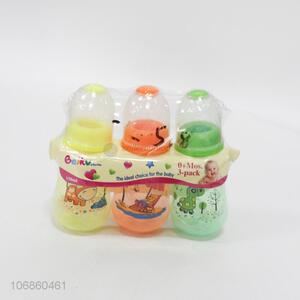 Custom 3 Pieces 150ML Feeding-Bottle Set