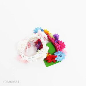Custom 2 Pieces Colorful Hair Ring Fashion Hair Rope