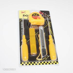 Wholesale 2 Pieces Screwdriver/3M Tapeline/Utility Knife With Blades