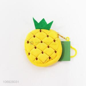 Fashion Fruits Bag Pineapple Shaped Coin Purse Children's Wallet Purse