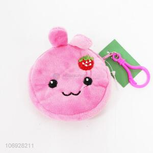 New Wholesale Plush Animal Rabbit Coin Purses for Children