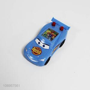 Cartoon Design Plastic Toy Car With Intelligent Ring Toss Water Game