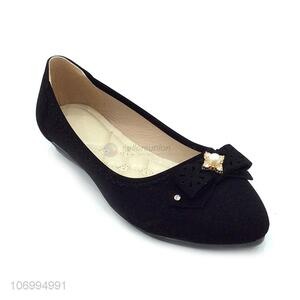 Top supplier ladies fashion flat shoes casual shoes commuting shoes