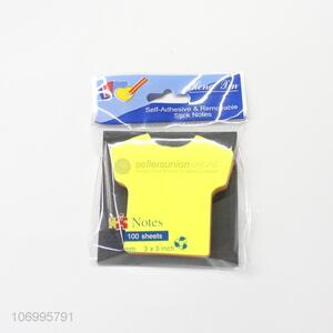 Fashion T-Shirt Shape Sticky Note Colorful Post-It Notes