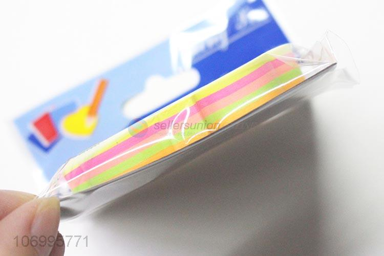 Hot Selling 100 Sheets Tree Shape Colorful Sticky Note