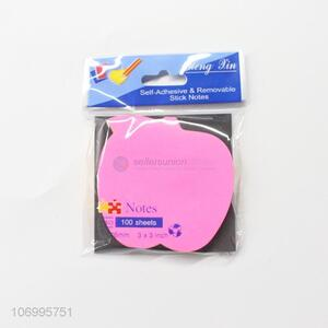 Wholesale 100 Sheets Fruit Shape Self-Adhesive Sticky Note