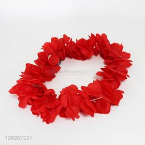 Fashion flower wreath flower necklace leis for party decoration