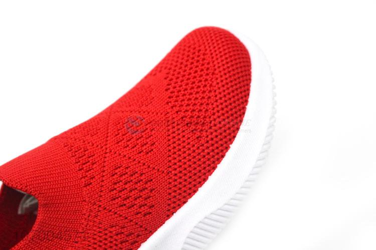 Direct Price Comfortable Breathable Children Flyknit Casual Sneakers Sport Shoes