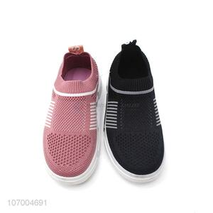 High Quality Flyknitting Casual Sneakers Kids Sport Shoes Children'S Shoes